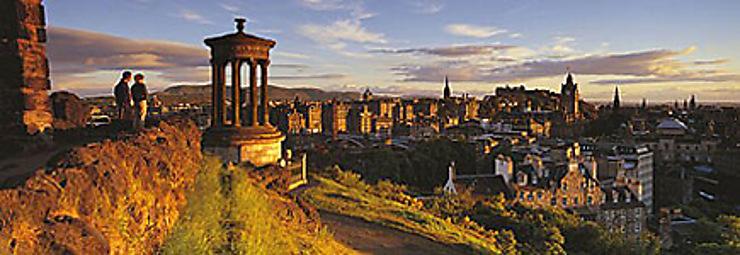 Édimbourg, capitale de l'Écosse