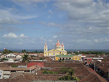 Vue de Granada avec la Cathédrale