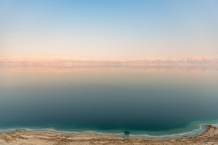 Une mer Morte, à l'étrange goût de lac salé