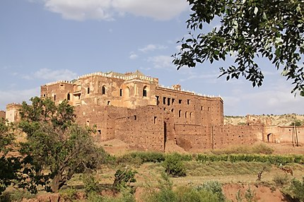 Le palais (ou la Kasba) du Glaoui