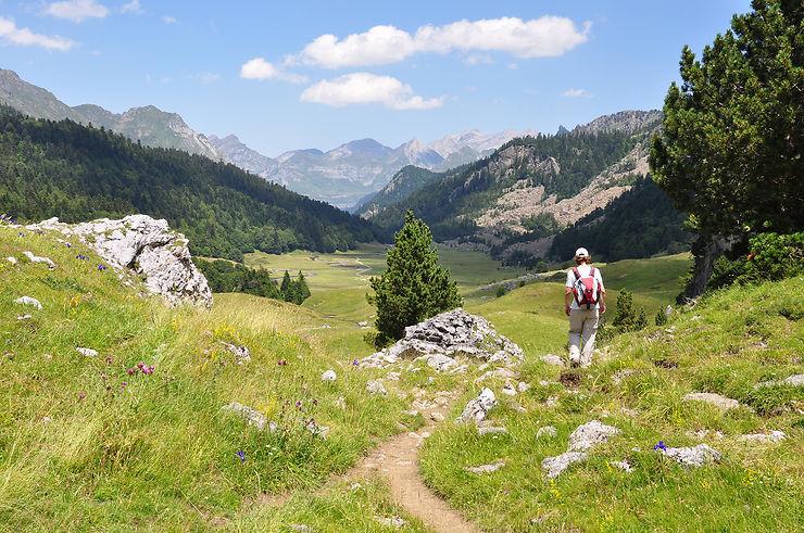 La vallée d'Ossau (Pyrénées-Atlantiques)