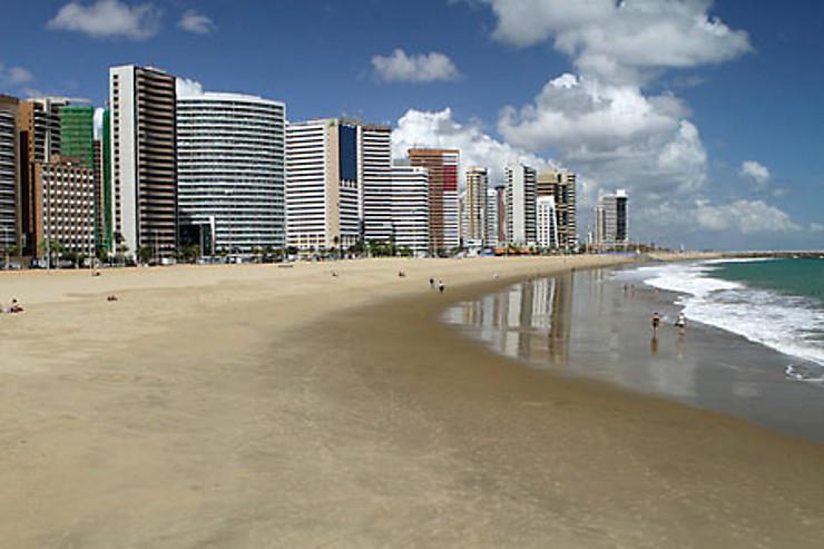 Fortaleza : jogging, plage et forró