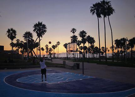 Perfect Basketball court