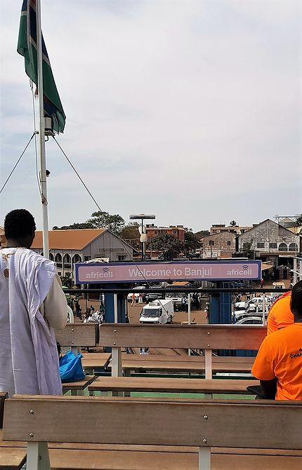 Arrivée Banjul