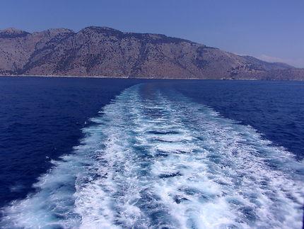 Dans le sillage du ferry