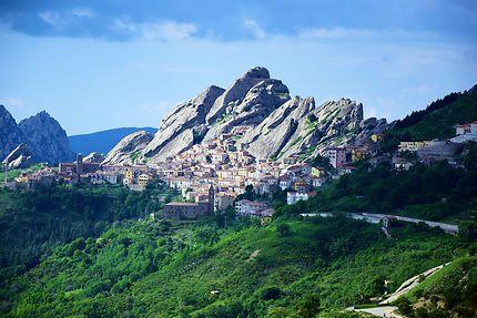 Pietrapertosa, village dans les montagnes