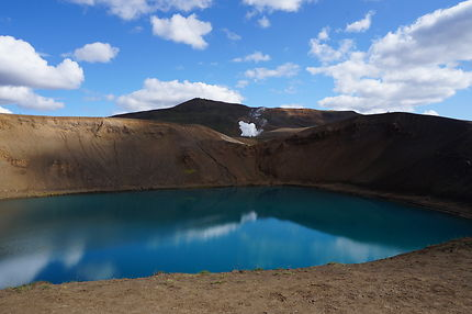 Volcan - Eau turquoise