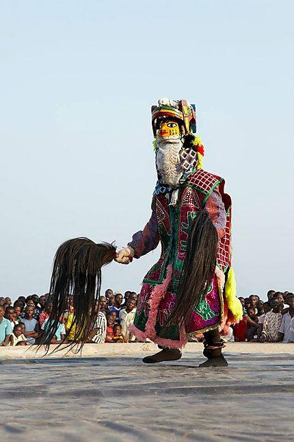 Guélèdè de Ouidah au festival des divinités noires