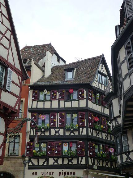 Volets romantiques à Colmar