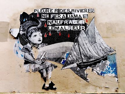 Street art (Madame Moustache)