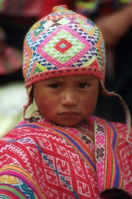 Enfant de l'île de Taquile