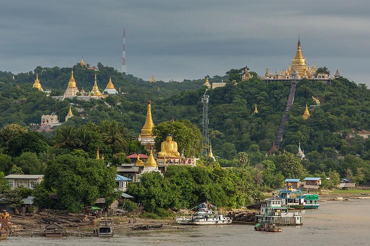 Croisière sur l'Irrawaddy jusqu'à Bagan