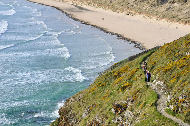 En Cotentin, sur la côte des Isles