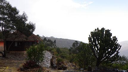German park en Ethiopie
