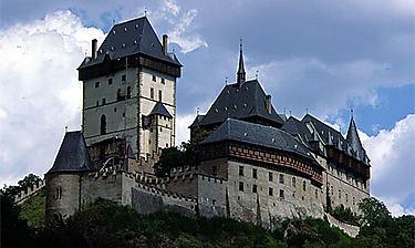 Château de Karlštejn (Bohême)