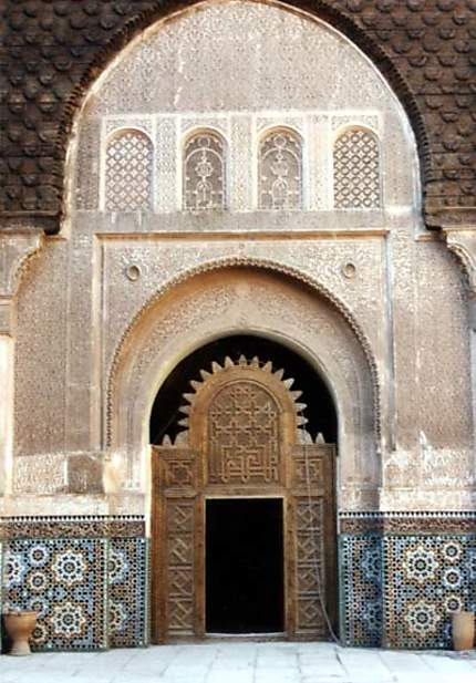 Entrée de la médersa Ben Youssef