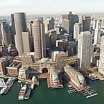 Boston vue du ciel