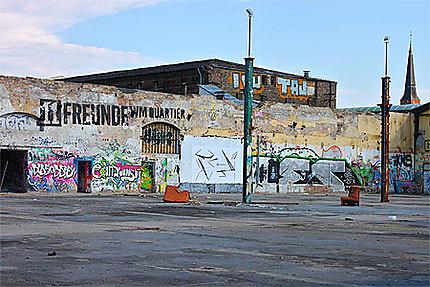 Berlin Friedrischshain - La friche
