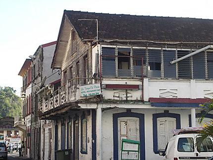 Vieilles maisons à St Pierre