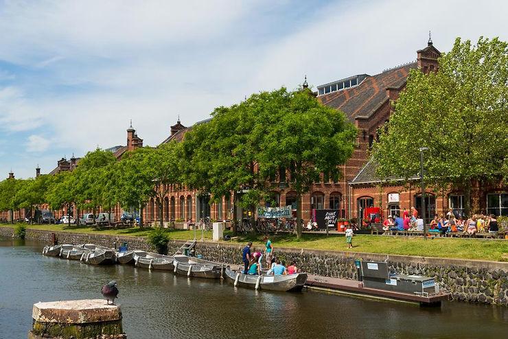 De la créativité plein les friches d'Amsterdam