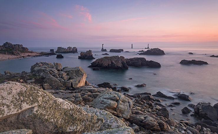 L'île d'Ouessant, au large du Finistère