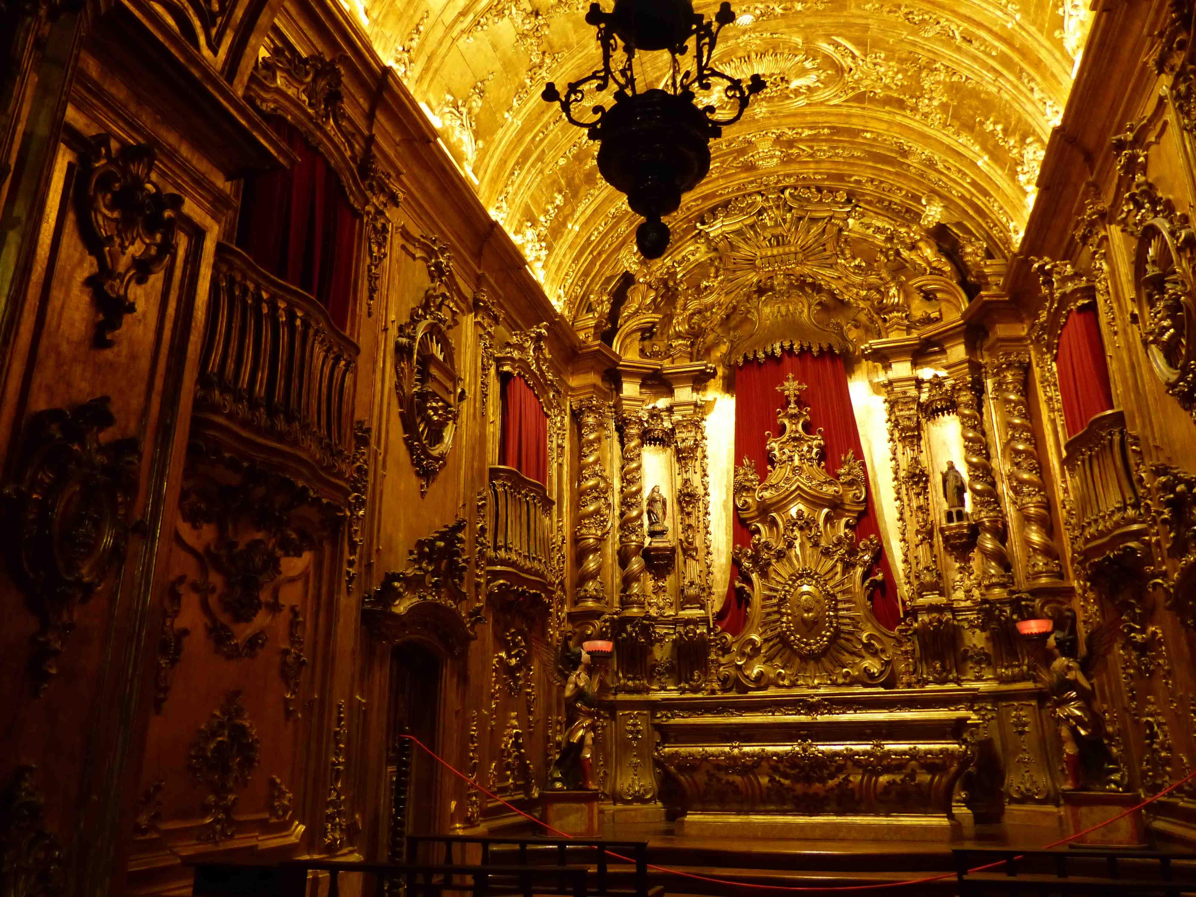 Monastère de Saint-Benoît (Mosteiro de São Bento) - Rio de Janeiro