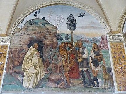 Fresque abbazzia di Monte Oliveto Maggiore