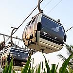 Le téléphérique de Dubaï Creek Park