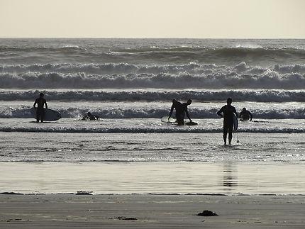 Surfeurs Irlandais