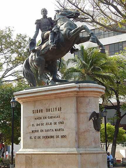 Bolivar est mort à Santa Marta, en Colombie