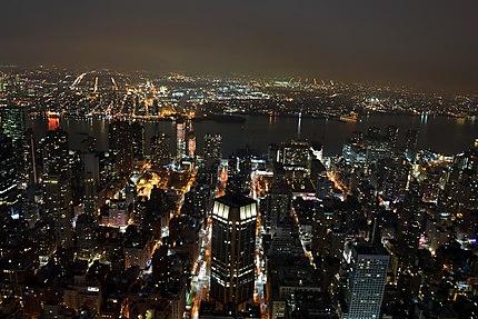 Du sommet de l'Empire State Building