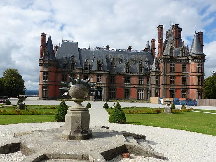 Château de Trévarez, Bretagne
