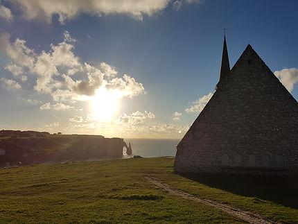 La chapelle d'Etretat