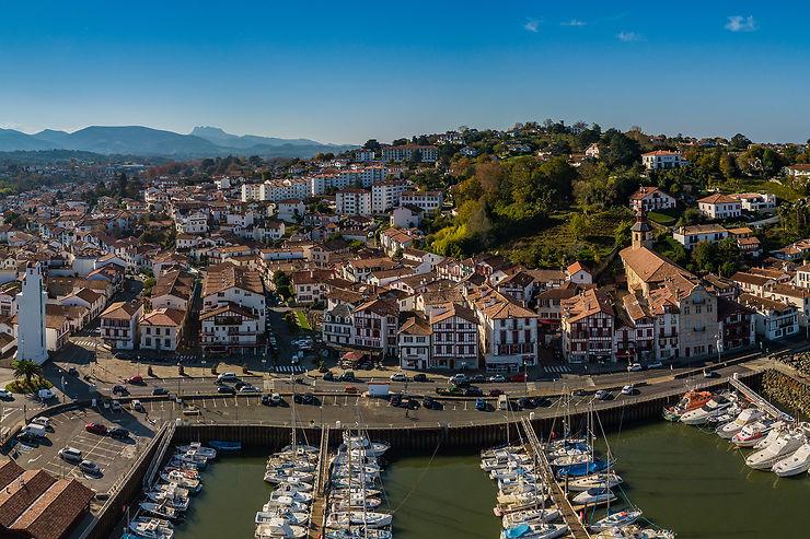 Le Pays basque côté ports, de Biarritz à Hendaye