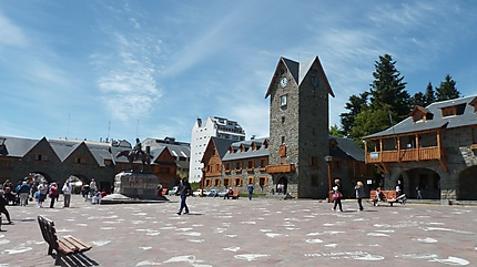 La grande place de Bariloche