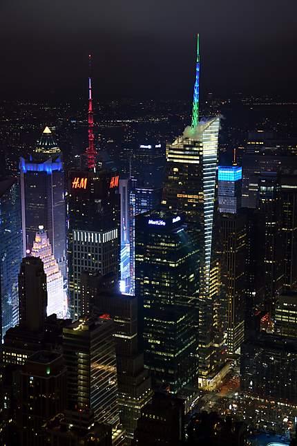 Vue sur la ville de New York