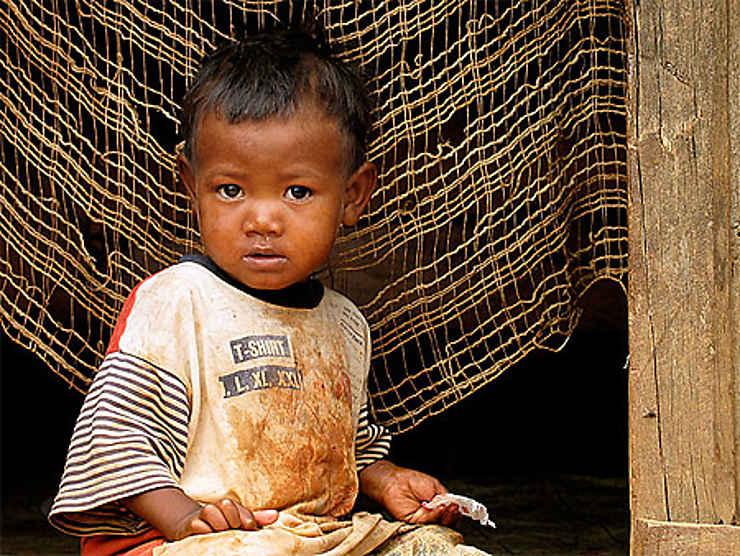 Enfant à Madagascar