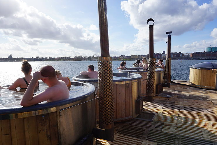 Copenhague, entre baignades et sauna
