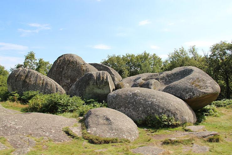 Les pierres jaumâtres (Creuse)