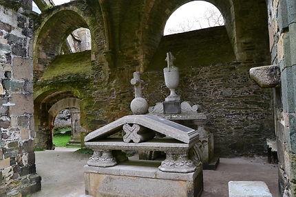 Cénotaphes de l'Abbaye de Beauport