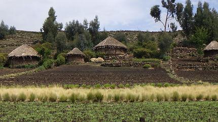 Tukul en Ethiopie
