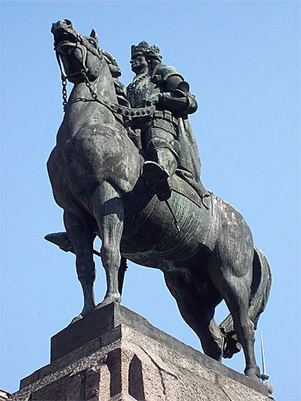 Pomnik Grunwaldzki : Ladislas II Jagellon