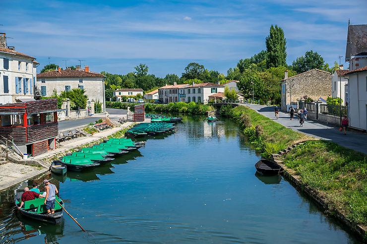 Coulon, la Venise verte du Marais poitevin