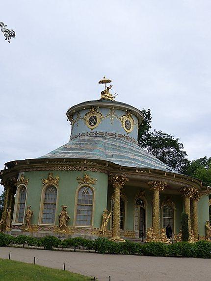 Le ravissant pavillon chinois