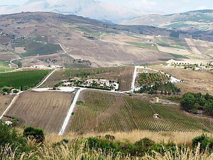 Vue depuis le monte Barbaro
