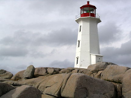 Le phare de Peggy's Cove