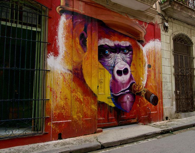 Street art à La Havane