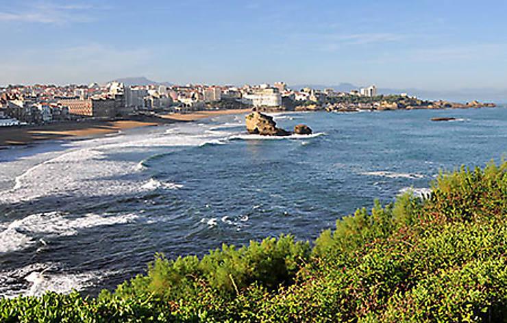 Biarritz, l'élégante