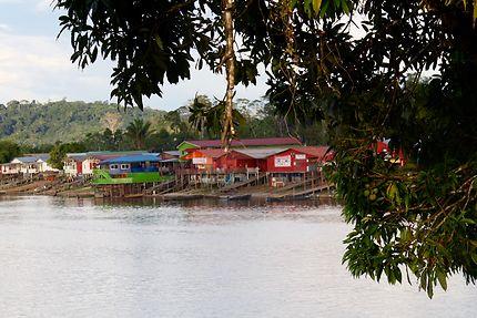 Le Surinam vu de Maripasoula