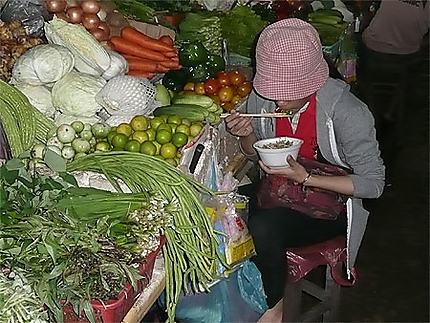 Au marché de Siem Reap